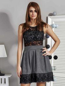 eleganckie sukienki z siateczką