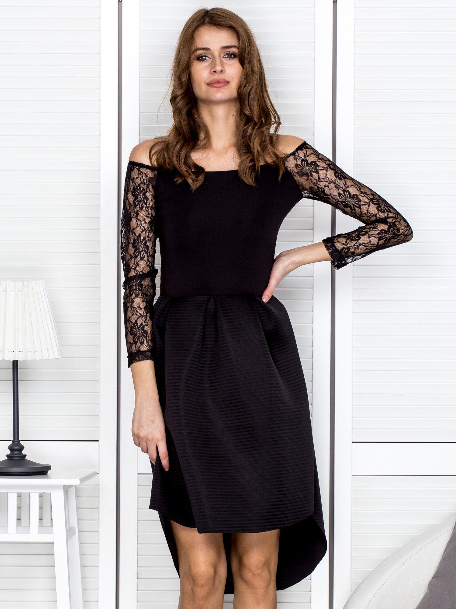 sukienka z siateczką